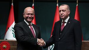 Cumhurbaşkanı Erdoğan Irak Cumhurbaşkanı Salihi kabul edecek