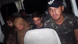 Yayladağında 9 kaçak yakalandı