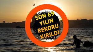 İstanbul'da 69 yılın en sıcak mayıs ayı İstanbul Ankara İzmir hava durumu tahminleri