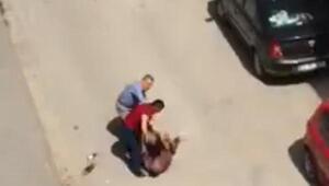 Sokak ortasında bıçaklanarak öldürülme anı kamerada
