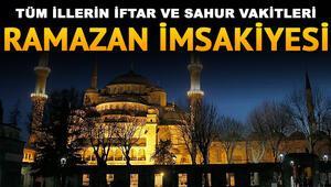 İstanbul Ankara ve İzmirde iftar saat kaçta yapılacak Diyanet 29 Mayıs il il iftar saatleri