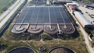 Elektriği güneşten sağlayacak ilk arıtma tesisinde sona gelindi