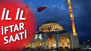 İftar bugün saat kaçta yapılacak İstanbul Ankara İzmir için iftar vakitleri