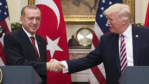 Cumhurbaşkanı Erdoğan ABD Başkanı Donald Trump ile görüştü