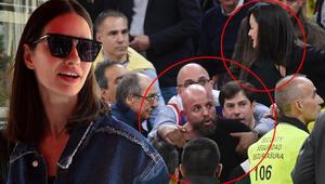Yasemin Özilhan, İspanya'da yaşadıkları tribün kavgasını anlattı.