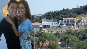 Mesut Özil kesenin ağzını açtı Çeşmede süper lüks villa yaptırdı