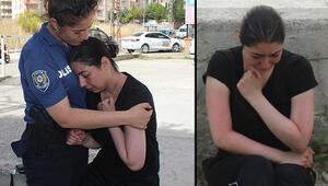 Gurbetçi genç kızın zor anları... Ağlayarak geldi şarkı söyleyerek ayrıldı