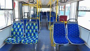67 otobüsün koltuğu farkındalık figürüyle değiştirildi