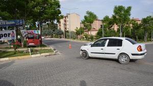Adıyamanda hafif ticari araç ile otomobil çarpıştı: 4 yaralı