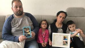 Almanyadaki Türk aile çocuklarını geri istiyor