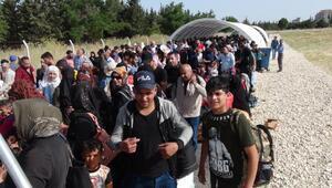 Geçişlerin son gününde Öncüpınar Sınır Kapısında yoğunluk