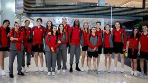 A Milli Kadın Basketbol Takımı İspanyaya gitti