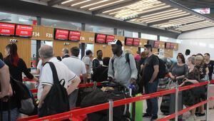İstanbul Havalimanında bayram hareketliliği