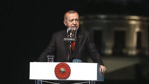 Cumhurbaşkanı Erdoğan: Hedeflere ulaştığımızda Türkiye, Devler Ligine çıkmış olacak