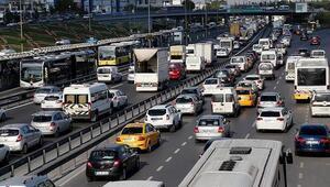 Trafik var mı İşte anlık bayram trafiği yoğunluğu
