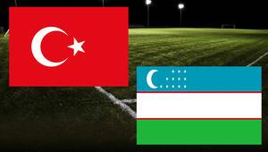 Türkiye Özbekistan maçı ne zaman saat kaçta hangi kanalda