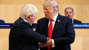ABD Başkanı Trump'tan Boris Johnson'a destek