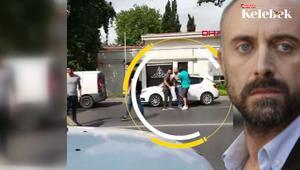 Halit Ergençin trafik kavgası kamerada