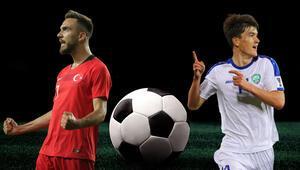 Hazırlık maçında rakibimiz Özbekistan Türkiyenin iddaa oranı...