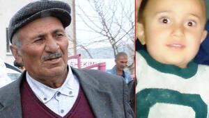 Cansız bedeni bulunan küçük Furkanın dedesi kalp krizinden öldü