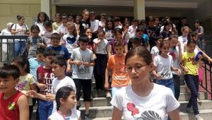 Anamurda bin 500 öğrenci, burs için ter döktü