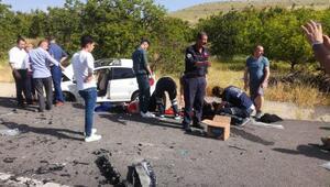 Malatyada kaza: 2 ölü, 3 yaralı