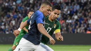 FransadaTürkiye maçı öncesi Kylian Mbappe şoku