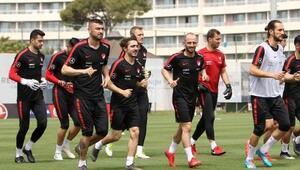 A Milli Futbol Takımımız, Fransa/İzlanda hazırlıklarını sürdürdü