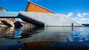 Dünyanın en büyüğü Norveç'te açıldı İşte Avrupa'nın ilk sualtı restoranı