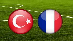 Türkiye Fransa maçı ne zaman saat kaçta