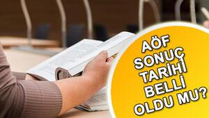 AÖF sınav sonuçları ne zaman açıklanacak Yaz okulu kayıtları ne zaman yapılacak