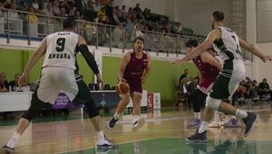Başkent ekibi final serisinde 1-0 öne geçti