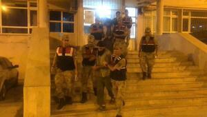 Sınırda yakalanan 3 DEAŞlı tutuklandı