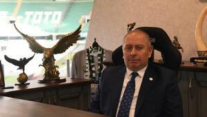Konyaspor Başkanı Hilmi Kulluk: Ligde 18 takım yeterli