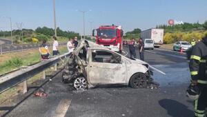 Çorluda tır ile otomobil çarpıştı: 5 ölü