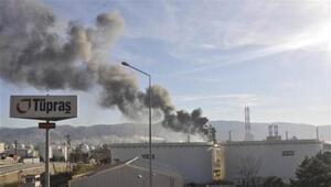 Tüpraş İzmit Rafinerisinde dumanlanma