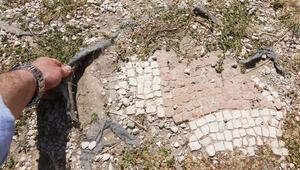 Örtü yırtıldı mozaikler saçıldı... Xsanthos acil müdahale bekliyor