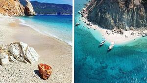 Türkiyenin gizli cenneti Sakin bir deniz tatili istiyorsanız burası tam size göre...