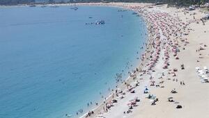 Güney Ege sahillerinde bayram yoğunluğu