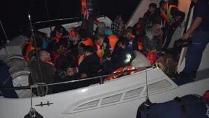 Dikilide Afganistan uyruklu 35 kaçak yakalandı