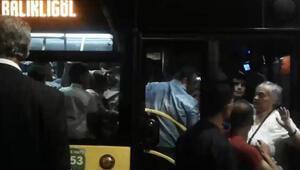 Halk otobüsünden taciz iddiasına gözaltı