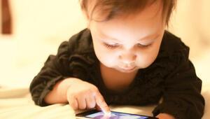 1.5 yaşına kadar dijital nesne ile teması engelleyin