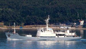 Rus istihbarat gemisi Kildin Akdenize iniyor