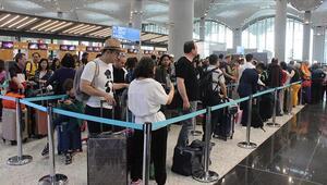 İstanbul Havalimanında mayıs yoğunluğu