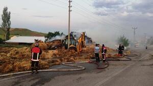 Ankarada 3 bin saman balyası yandı