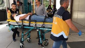 Ispartada tarım aracı devrildi: 1 ölü, 2 yaralı