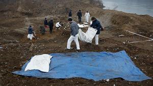 Bosna Hersekteki yeni toplu mezarda 8 kurbanın cesedine ulaşıldı
