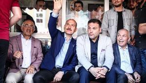 İçişleri Bakanı Süleyman Soylu Gaziosmanpaşada konuştu
