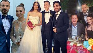 Amine ile Mesutun düğününe ünlü akını