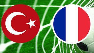 Türkiye Fransa maçı ne zaman saat kaçta hangi kanalda İşte milli maçın muhtemel 11leri